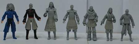 Early Last Airbender Action Figures